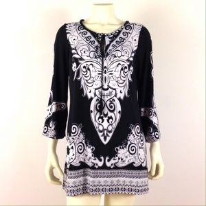 ECI Baroque Mini Dress/Tunic